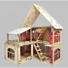 """Конструктор """"Дом с верандой""""  (коробка) 53см*39см*61 см."""