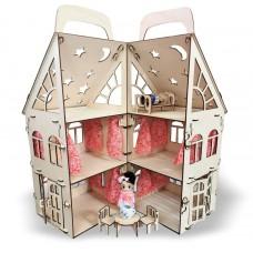 """Конструктор """"Дом складной"""" маленький, (коробка) 35см*19см*45 см."""