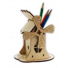 "Конструктор- карандашница "" Мельница""  12,5*9*12,5 см."