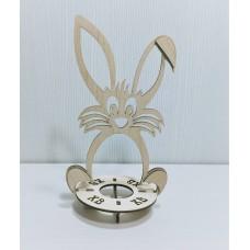 Подставка под яйцо Кролик 9,2*7,3*9,5*16 см (хв гравировка)