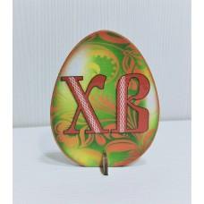 Подставка пасхальная цветная  Яйцо 9*7 см (ХВ)