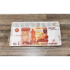 Купюрница 5000 руб,  ДВП 18,6*9,8*0,9 см. в вакуумной упаковке