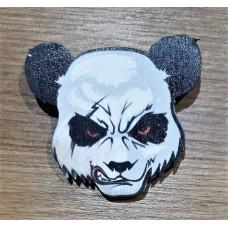 """Значок деревянный """"Панда- морда"""""""