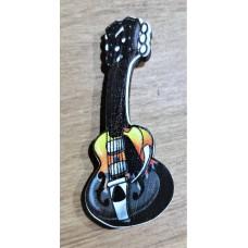 """Значок деревянный """"Гитара"""""""