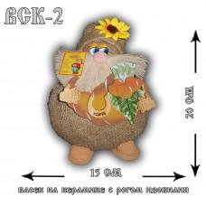 ВСК-2  Васек на керамике с рогом изобилия