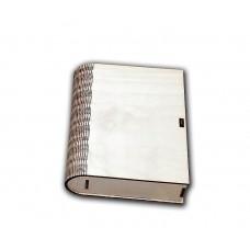 Ключница-книга большая, заготовка, 22,5*17,5*3 см, без упаковки