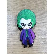 """Значок деревянный """"Джокер"""""""
